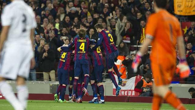 Барселона реал мадрид 4 0 полный матч
