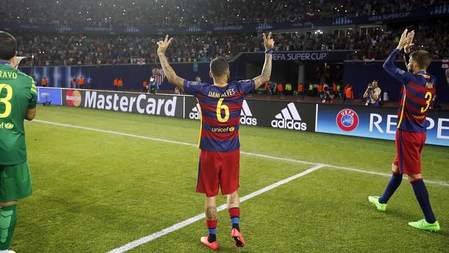 Барселона игрок под номером 3