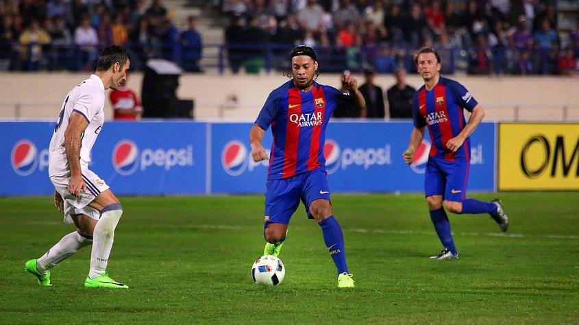 Барселона реал мадрид 5 0 полный мачт