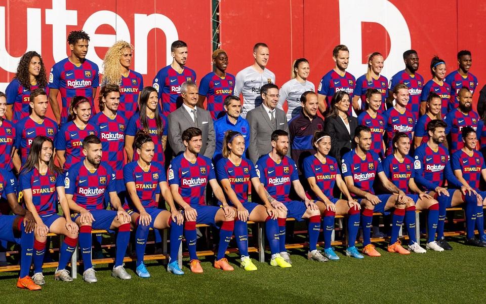 Футбол барселона фото игроков команды